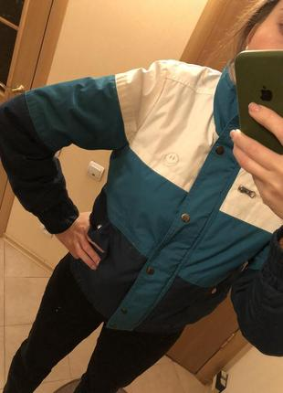 Куртка курточка весна - осень ретро винтаж бомпер