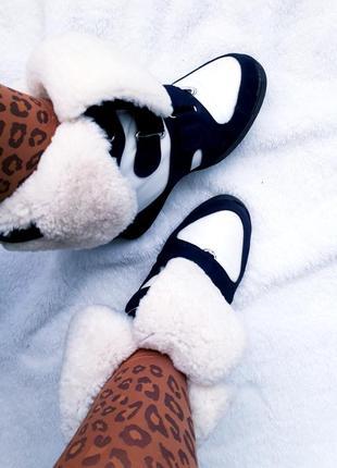Зимние/итальянские/замшевые кроссовки/сникерсы/хайтопы на овчине isabel marant sneakers.