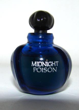 Миниатюра christian dior midnight poison. оригинал.
