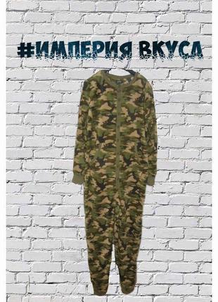 Кигуруми пижама премиум камуфляж комбинезон стиль милитари м рост до 174 см