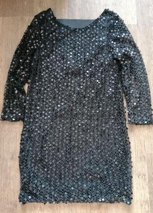Эффектное платье vero moda m разм