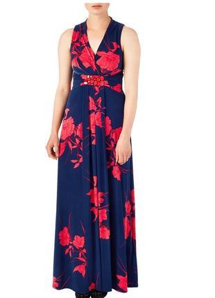 Шикарное платье в пол 44-46 размер