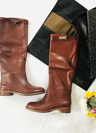 Новые кожаные сапоги basconi 38 размер