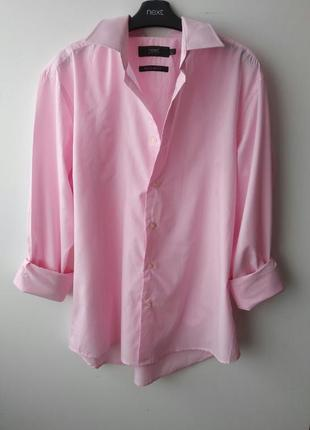 Розовая, стильная рубашка оверсайз😍