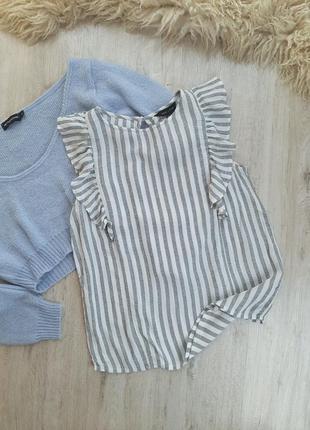 Полосата блуза