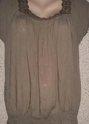 Стильная модная блузка от бренда pronto.италия