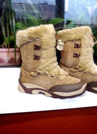 """Термо ботинки на меху. """" hi-tec """" 200 terhmo-dri. англия. 36 р."""