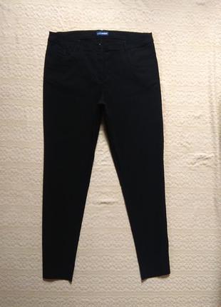 Утягивающие черные штаны скинни charles vogele, xxl размер.