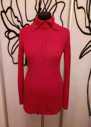 Эффектный удлиненный свитер-платье от autograph