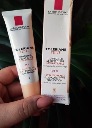 Корректирующий тональный крем ля рош-позе la roche-posay toleriane teint