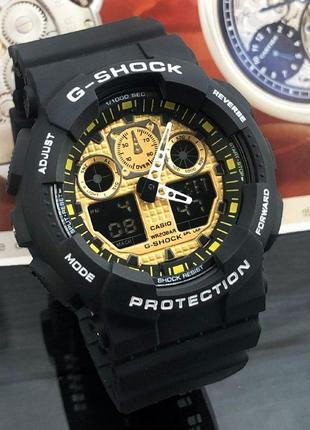 Чоловічій годинник casio g-shock золотий