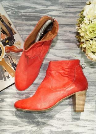 🌿38🌿jones. кожа. красивые фирменные ботинки, полусапожки