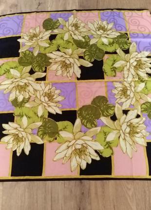 Шелковый платок lanvin paris