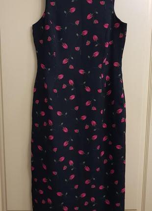 Красивое цветочное  платье,сарафан