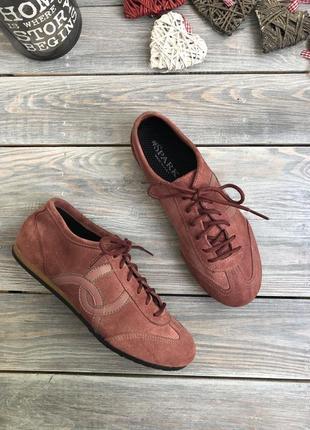 Spark italy замшевые комфортные кеды кроссовки