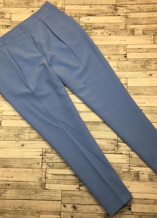 Безумно стильные, укороченые брюки с защипами, карманами, шикарного качества и цвета