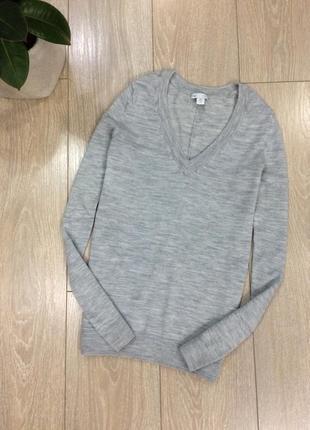 Джемпер пуловер свитер  100% шерсть размер 8-10 gap