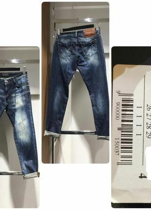 Новые фирменные джинсы бойфренды amn, amnezia, амнезия