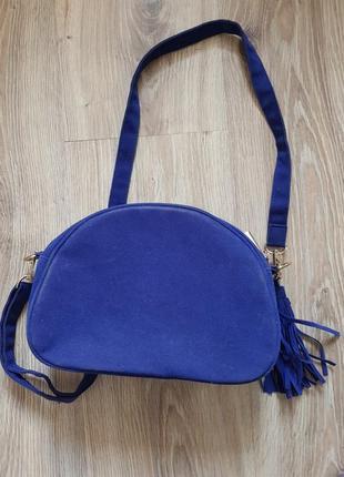 Синяя сумка от top secret