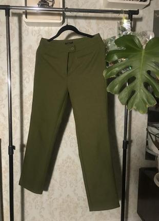 Класические повседневные прямые  штаны sisley