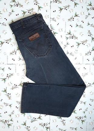 Фирменные прямые мужские плотные джинсы wrangler оригинал, размер 48 - 50