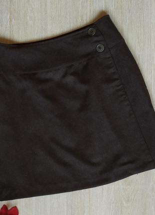 Шерстяная юбка sisley