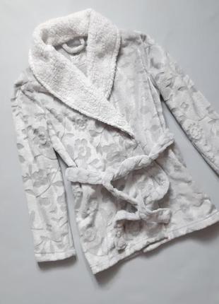 Плюшевая кофта, халат