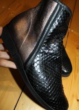 40 разм. ботинки arche. кожа. франция