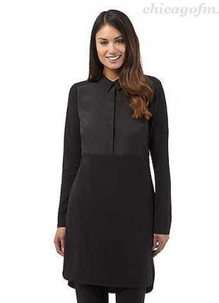 Брендовое платье  рубашка betty jackson.black uk 10