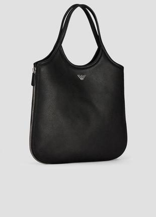 Кожаная сумка emporio armani hobo bag оригинал