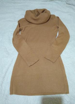 Теплое вязаное платье h&m