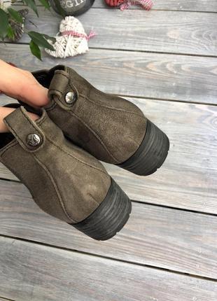 Caprice замшевые утеплённые челси, ботинки2 фото