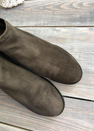Caprice замшевые утеплённые челси, ботинки3 фото