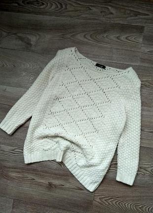 Белоснежный свитерок