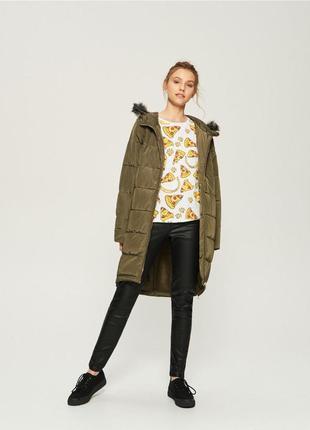Пальто стеганое теплое sinsay польша новое