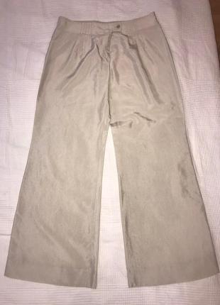Emporio armani шикарные брюки кюлоты