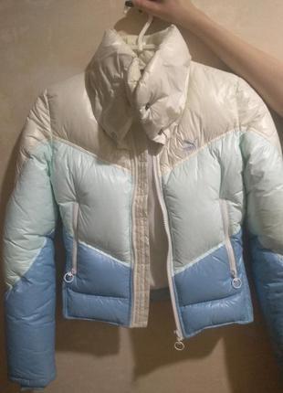 Теплая короткая курточка puma