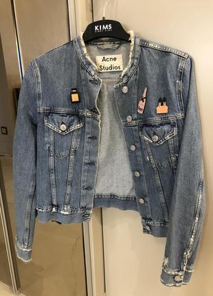 Джинсовая куртка acné studios
