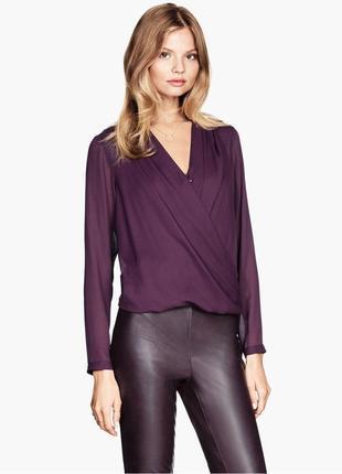 Свободная блуза на запах atmosphere