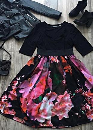 Красивенное платье scarlet&jo