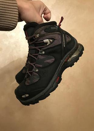 Ботинки salomon gtx gore-tex оригинал трекинговые,зимние