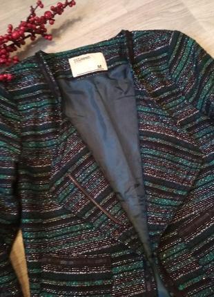 Очень красивый пиджак жакет diloren