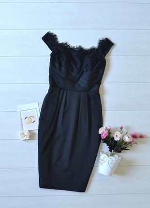 Дуже красиве плаття карандаш з кружевом asos.