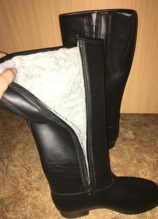 Резиновые сапоги зимние