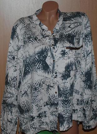 Блуза бренда ellos /в пудрово-серый принт/