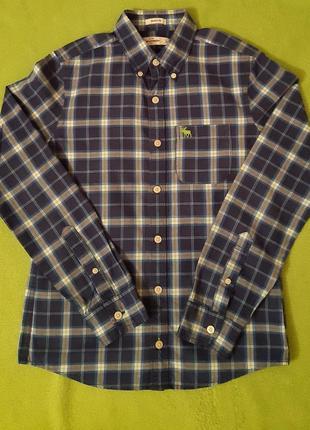 Крутая рубашка abercrombie kids
