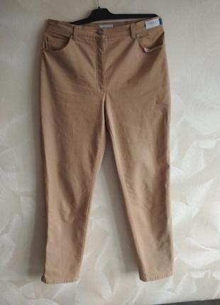 Фирменные брюки,штаны, чиносы brax высокая талия