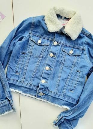 Джинсовая курточка, новая