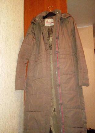 Cтёганое пальто фирмы reserved