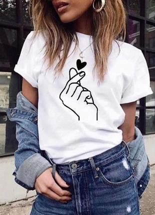 Классная футболка с ручной росписью красками рисунок не принт минимализм